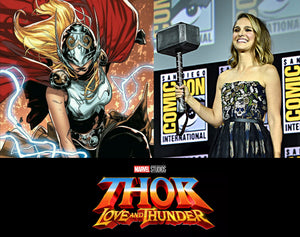Nathalie Portman as Jane Foster / Lady Thor announced at San Diego Comic-con 2019