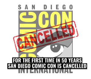 San Diego Comiccon cancelled for the first time in 50 years.