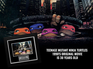 Teenage Mutant Ninja Turtles first live-action movie marks it's 30 years