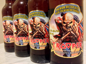 Iron Maiden Trooper Beer Ale is now available in Ontario & Quebec