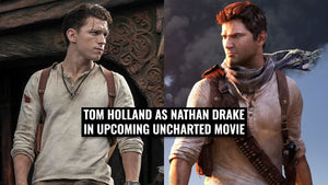 Tom Holland as Nathan Drake in new upcoming Uncharted Movie