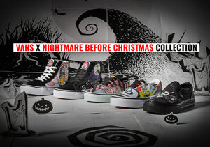 Vans drops a new collection with Disney's Nightmare before Christmas