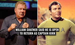 William Shatner is open to the idea of returning as James T. Kirk