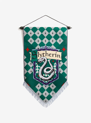 Harry Potter - Slytherin Felt Banner