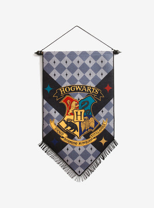 Harry Potter - Hogwarts Felt Banner