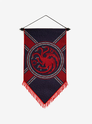 Game Of Thrones - Targaryen Felt Banner
