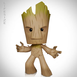 "Guardians Of The Galaxy- 'I Am Groot' Hand-Signed 11"" Deluxe Vinyl Statue By Stan Lee"