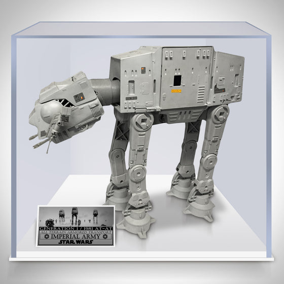 STAR WARS - Generation 1- 1981 AT-AT in Museum Display