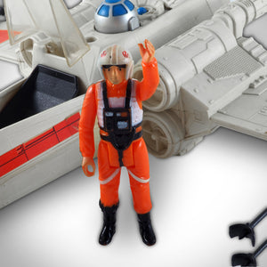 Star Wars 1978 Generation 1 Luke Skywalker With R2D2 X-Wing Fighter Custom Museum Display