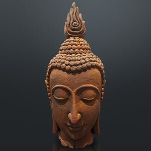 Buddha The Ushnisha Large Head Fine Art Statue