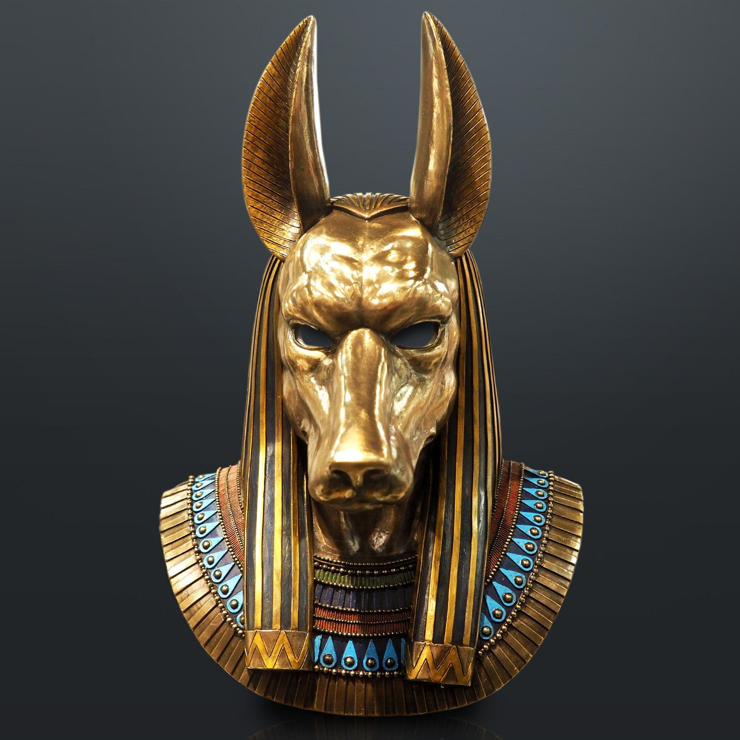 Statuette of the god Anubis Made in Egypt