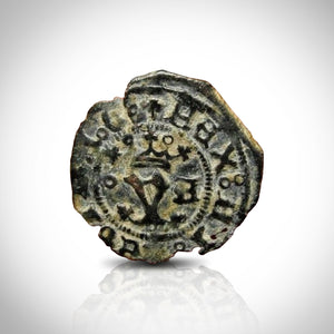 New World First Coin -  First Coin of the Americas From 1492 AD Custom Museum Display