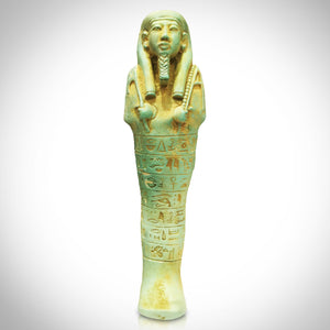 Egyptian Ushabti XL Authentic Tomb Statue From 664-525Bc  Custom Museum Display