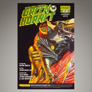 The Green Hornet Parallel Lives #1 Comic Book Hand-Signed By Stan Lee, Jai Nitz, Seth Rogen & Christoph Waltz Custom Frame