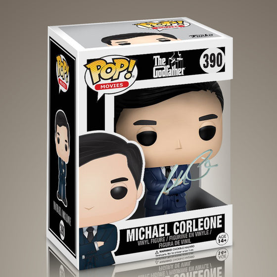 GODFATHER- 'Michael Corleone' Hand-Signed Funko POP by AL PACINO