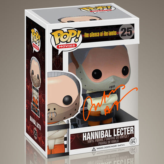 Silence of the Lambs- 'HANNIBAL LECTER' Hand-Signed Funko POP by ANTHONY HOPKINS