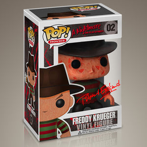 Nightmare On Elm Street- Freddy Krueger Hand-Signed Funko Pop By Robert Englund