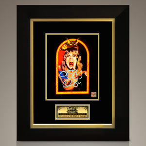 OZZY OSBOURNE - Hand-Signed Speak of the Devil photo by Ozzy Custom Frame