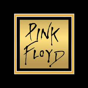 Pink Floyd - Hand-Signed Dark Side Of The Moon 24k Gold LP by Band Members Custom Frame