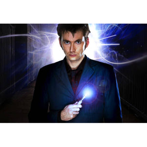 Doctor Who- Hand-Signed Sonic Screwdriver By David Tennant