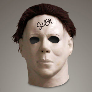 Halloween - Hand-Signed Mask Replica By John Carpenter Museum Display