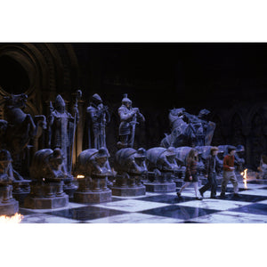 Harry Potter- Hand-Signed Wizard Chess Set By Daniel Radcliffe, Emma Watson & Rupert Grint