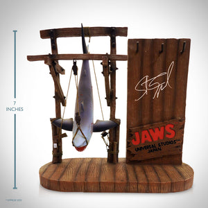 Jaws - Hand-Signed Captured Bruce / Jaws Statue By Steven Spielberg