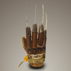Nightmare On Elm Street - Hand-Signed Freddy Krueger Glove By Robert Englund