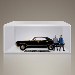 SUPERNATURAL - Hand-signed 1967 Chevy Impala 1/18 Die-Cast Car by Jensen Ackles & Jared Podalecki
