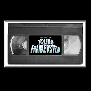 Young Frankenstein - Hand-Signed Movie Photo  & Vhs By Gene Wilder, Peter Boyle & Mel Brooks