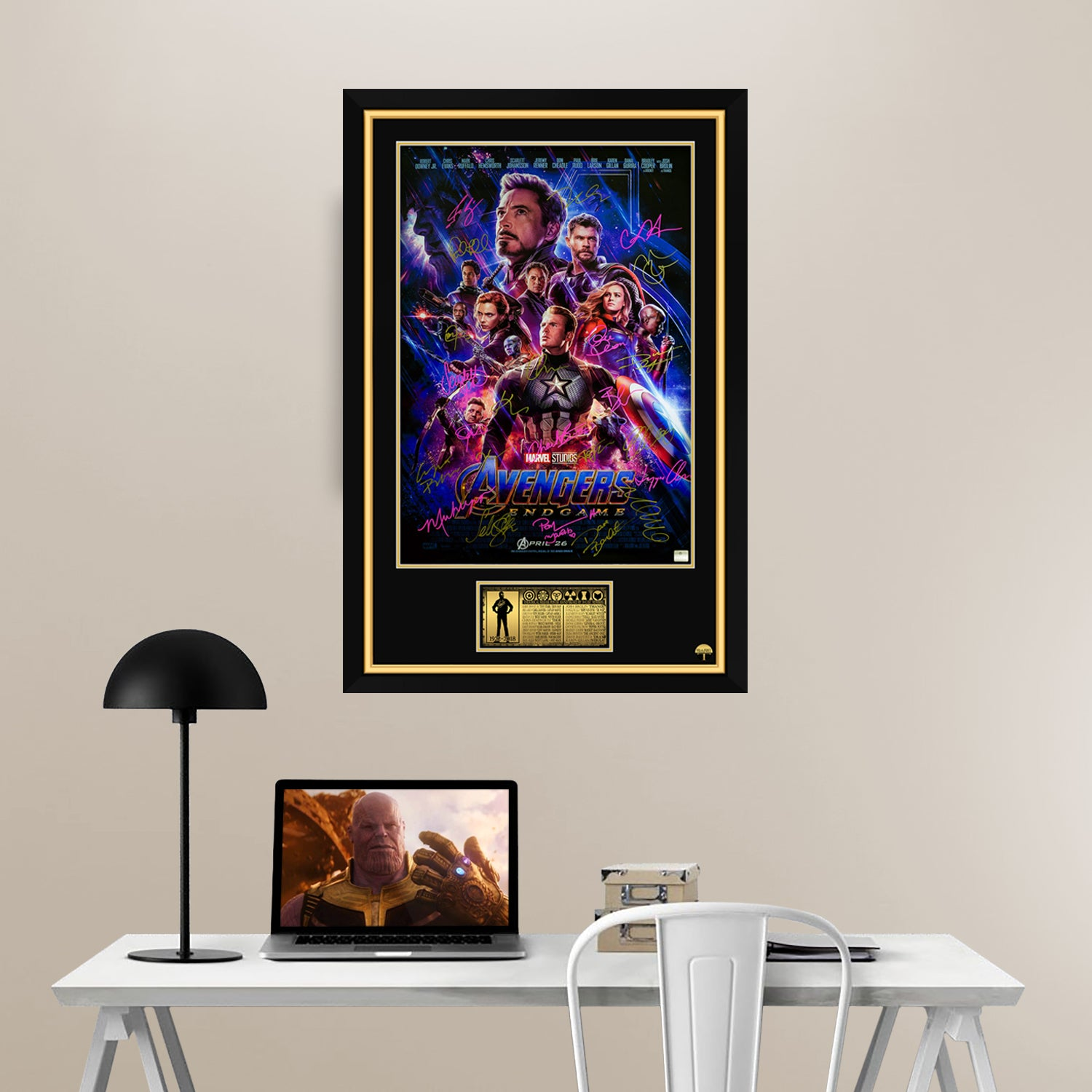 Hand-Signed Theatrical Poster By 24