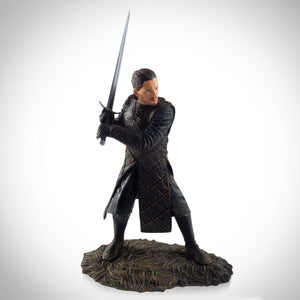 Game Of Thrones- Jon Snow Battle Of The Bastards Statue