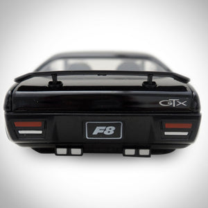 Fast & Furious F8 Dom's 1972 Plymouth GTX 1:24 Die Cast Car Custom Museum Display