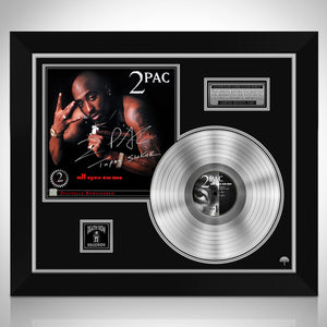 2 PAC All Eyez on Me Platinum LP Limited Signature Edition Studio Licensed Custom Frame