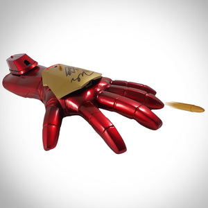 Iron Man- Hand-Signed Life Size Iron Man Arm By Robert Downey Jr. & Stan Lee Museum Display