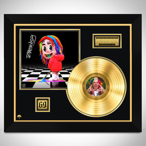6ix9ine - Dummy Boy Gold LP Limited Signature Edition Studio Licensed Custom Frame