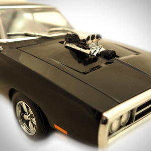 Fast & The Furious - Dom'S Charger Exclusive Elite Edition 1/18 Die-Cast Car Display Set