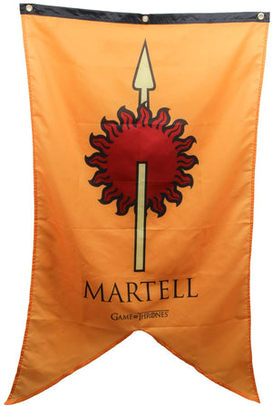 Game Of Thrones - House Martel Banner