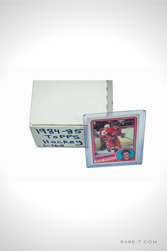 'TOPPS 84/85 with STEVE YZERMAN CARD' Hockey Card Set