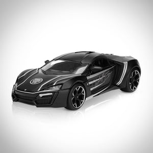 BLACK PANTHER- Hand-Signed Die-Cast Car by Chadwick Boseman Museum Display