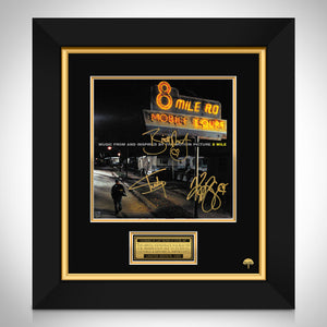 8 Mile Soundtrack Limited Signature Edition Studio Licensed LP Cover Custom Frame