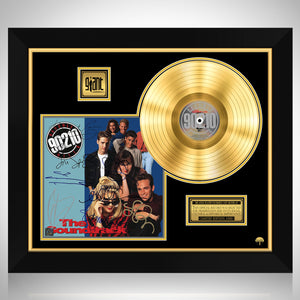 90210 - Soundtrack Gold LP Limited Signature Edition Studio Licensed Custom Frame