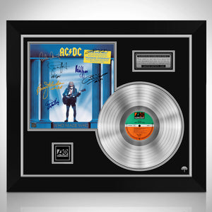 AC/DC - Who Made Who - Maximum Overdrive Soundtrack Platinum LP Limited Signature Edition Studio Licensed Custom Frame