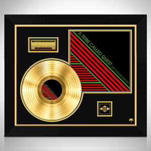 A Tribe Called Quest The Low End Theory Gold LP Limited Collectors Edition Custom Frame