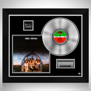 Abba - Arrival Platinum LP Limited Signature Edition Studio Licensed Custom Frame