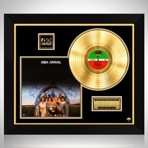 Abba - Arrival Gold LP Limited Signature Edition Studio Licensed Custom Frame