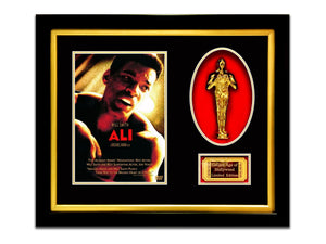 Limited Edition 'Ali - Gold Oscar' Custom Frame