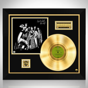 Alice Cooper Love it to Death Limited Signature Edition Studio Licensed Gold LP Custom Frame