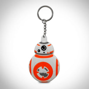 Star Wars- Double Sided BB-8 Rubber Keychain