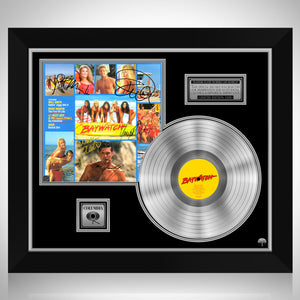 Baywatch - Soundtrack Platinum LP Limited Signature Edition Studio Licensed Custom Frame